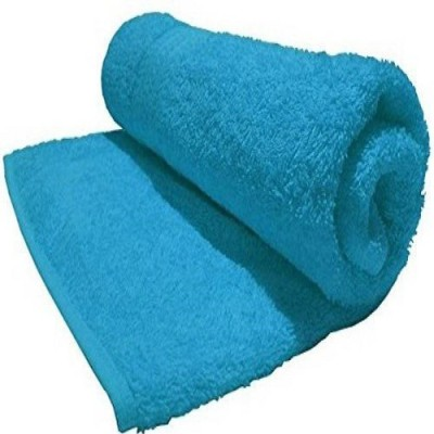 P.S Decor Cotton 500 GSM Bath Towel(Light Blue) at flipkart