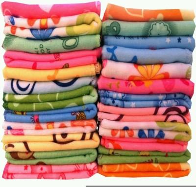 Angel Homes Cotton 500 GSM Face Towel Set(Pack of 24, Multicolor) at flipkart