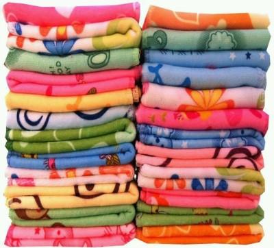 Angel Homes Cotton Face Towel Set(Pack of 24, Multicolor) at flipkart