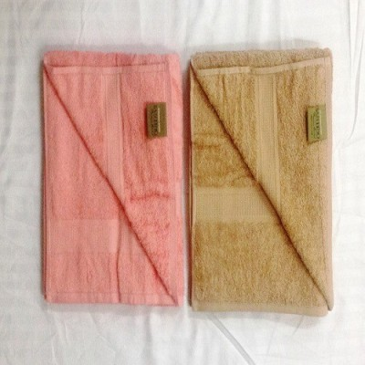 Bombay Dyeing Cotton Bath Towel Set(Pack of 2, Brown, Pink)