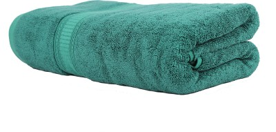 Trident Organica Cotton 650 GSM Bath Towel(Green) at flipkart