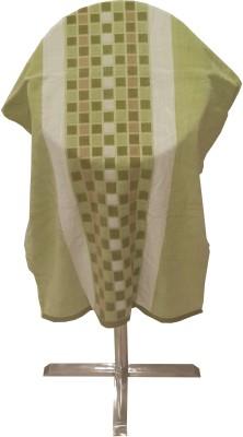 Welhouse India Cotton Beach Towel(Pack of 4, Green)