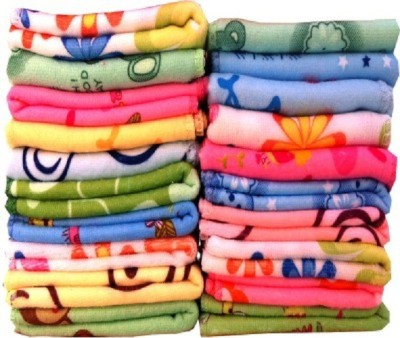 Z Decor Cotton 300 GSM Face Towel Set(Multicolor) at flipkart