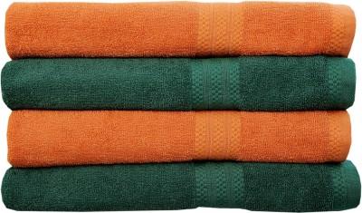 Rakshan Cotton 500 GSM Bath Towel Set(Pack of 4, Multicolor) at flipkart