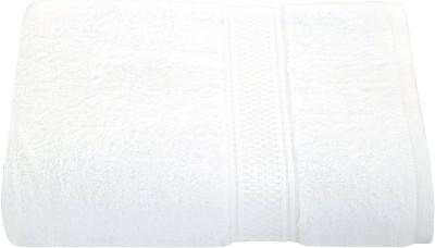 3LOQ Cotton Bath Towel(White) at flipkart