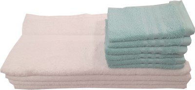 Welhouse India Cotton Hand & Face Towel Set(Pack of 4, Multicolor)