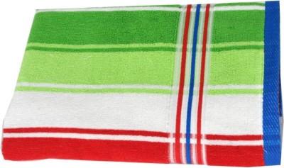 wellwet Cotton Bath Towel(Red, Green)