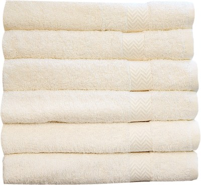 Rakshan Cotton 600 GSM Bath Towel Set(Pack of 6, Multicolor) at flipkart