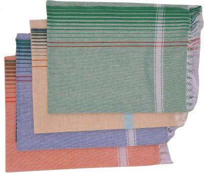 EASJAY BRAND Cotton Bath Towel(Pack of 4, Multicolor)