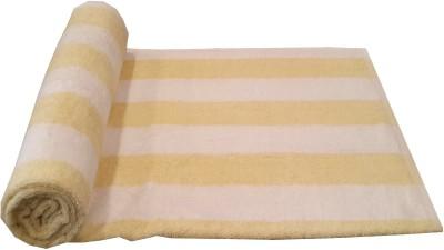 Welhouse India Cotton Bath Towel(Pack of 4, Yellow)