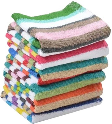 Milap Cotton, Terry Hand Towel(Pack of 6, Multicolor)