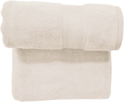 Bombay Dyeing Cotton Bath Towel(Beige)