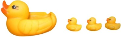 Global Gifts Duck Set Bath Toy(Yellow)
