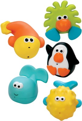 Sassy Bath Time Pals Bath Toy(Multicolor)