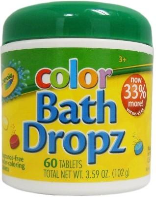Crayola Play Visions Bath Dropz 3.59 oz Bath Toy(Multicolor)
