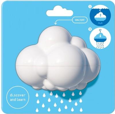 Webby Rain Cloud Bath Toy(White)
