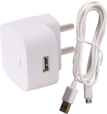 Dhhan Wall Charger Accessory Combo for Samsung Galaxy Grand Neo Plus GT I9060i White