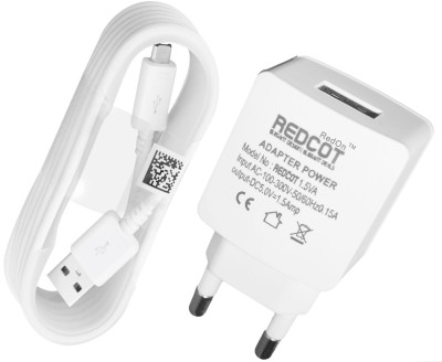 REDON REDCOT 1.5A Mobile Charger(White)