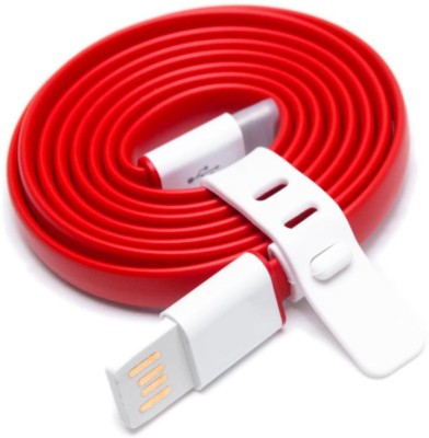 Desi Kalakaar Premium High Speed sync and charge For 1s 1 m USB Type C Cable Compatible with All Phones With Type C port, Red White Desi Kalakaar Mobi