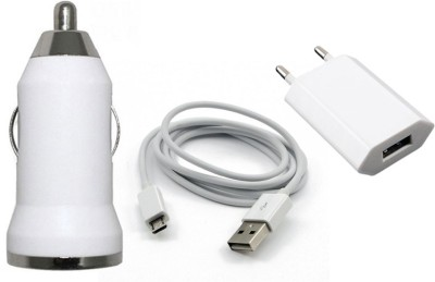 Cellista CC Hub Bullet / Hub For Home 2 Pin Otc / Data Cable For Samsung / All Smart Phones /Micro USB Mobile Charger(White)