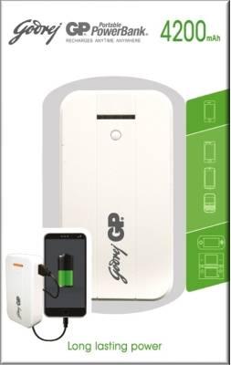 Godrej GP GP541A 4200mAh Power Bank Image
