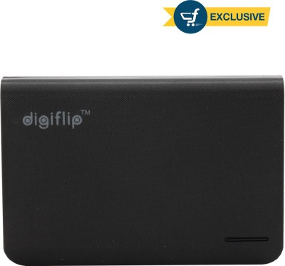 DigiFlip Power Bank 8800 mAh PC010  with Two USB Outputs  Black DigiFlip Wall Chargers
