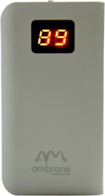 Ambrane P-550 Digital Series 5200 mAh Power Bank(White)