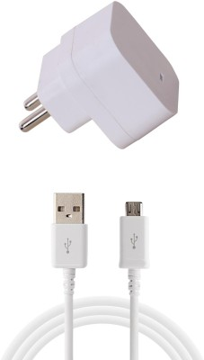 FURST 1.5 Amp. USB Adapter with Cable  1 Mtr  For Xiomi Mi 4 1 A Mobile Charger with Detachable Cable White