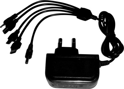 MIE 5 1 A Mobile Charger Black MIE Multi Pin Wall Charger