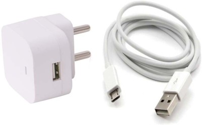 Trost Wall Adapter with 10 ft Extra long Micro USB Cable For Lnvo K3 Nt Camera Charger(White)