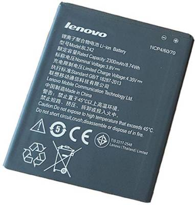 Lenovo-BL242-2300mAh-Battery-(For-A6000)