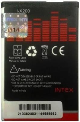 Intex I-X200 800mAh Battery (For Nokia X200) Image
