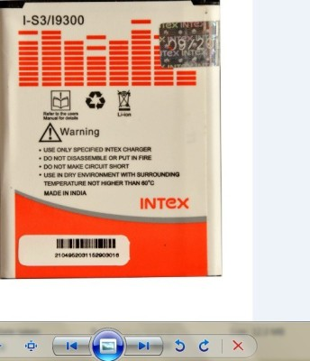 Intex-I-S3/I-9300-2100mAh-Battery