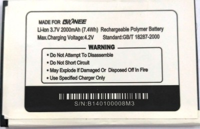 Gionee M3  Battery  available at flipkart for Rs.666