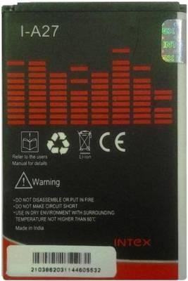Intex-A27-1500mAh-Battery-(for-Micromax-Bolt,Canvas-Punk-A45)