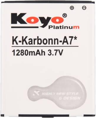Koyo-1280mAh-Battery-(For-Karbonn-A7-Star)