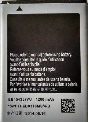 Kreativz  Battery   Long Lasting  For S5360 EB454357VU Multicolor available at Flipkart for Rs.364