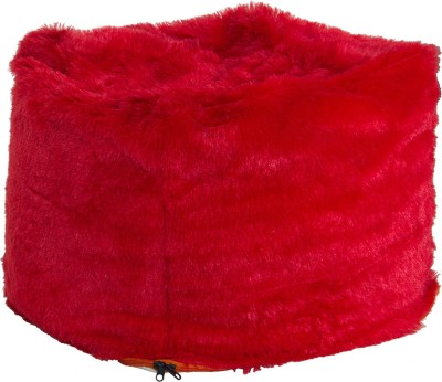 Creative Textiles XXL Bean Bag Cover  (Without Beans)(Red)