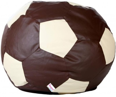 Homez Decor XXL Bean Bag Cover  (Without Beans)(Brown)