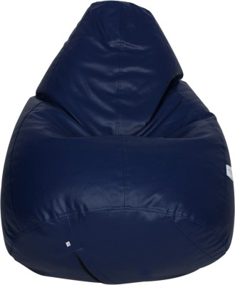 Star XL Bean Bag  With Bean Filling(Blue)