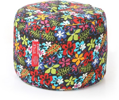 Style Homez Large Bean Bag Cover  (Without Beans)(Multicolor) at flipkart