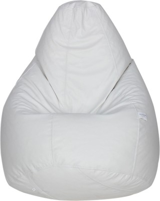 Star XXXL Bean Bag  With Bean Filling(White)