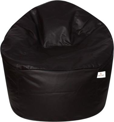 Star XXXL Bean Bag Sofa  With Bean Filling(Brown)