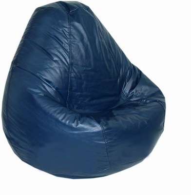 fab homez large bean bag with bean filling blue bean bags price in