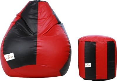 Star XXL Bean Bag  With Bean Filling(Multicolor)