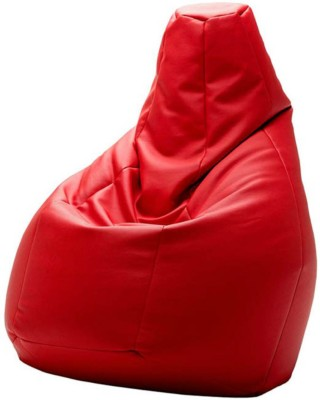 Creative Homez XL Bean Bag Cover(Red)