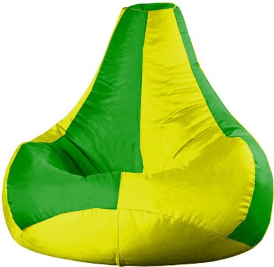 Rest N Sleep XL Bean Bag Cover (Without Beans)(Multicolor)