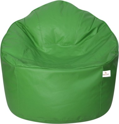 Star XXXL Bean Bag Sofa  With Bean Filling(Green)