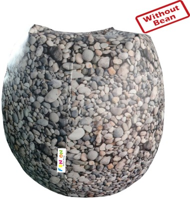 Fun ON XL Teardrop Bean Bag Cover  (Without Beans)(Multicolor) at flipkart