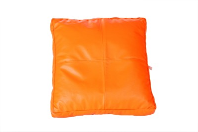 Comfy Bean Bags Large Bean Bag Footstool  With Bean Filling(Orange)